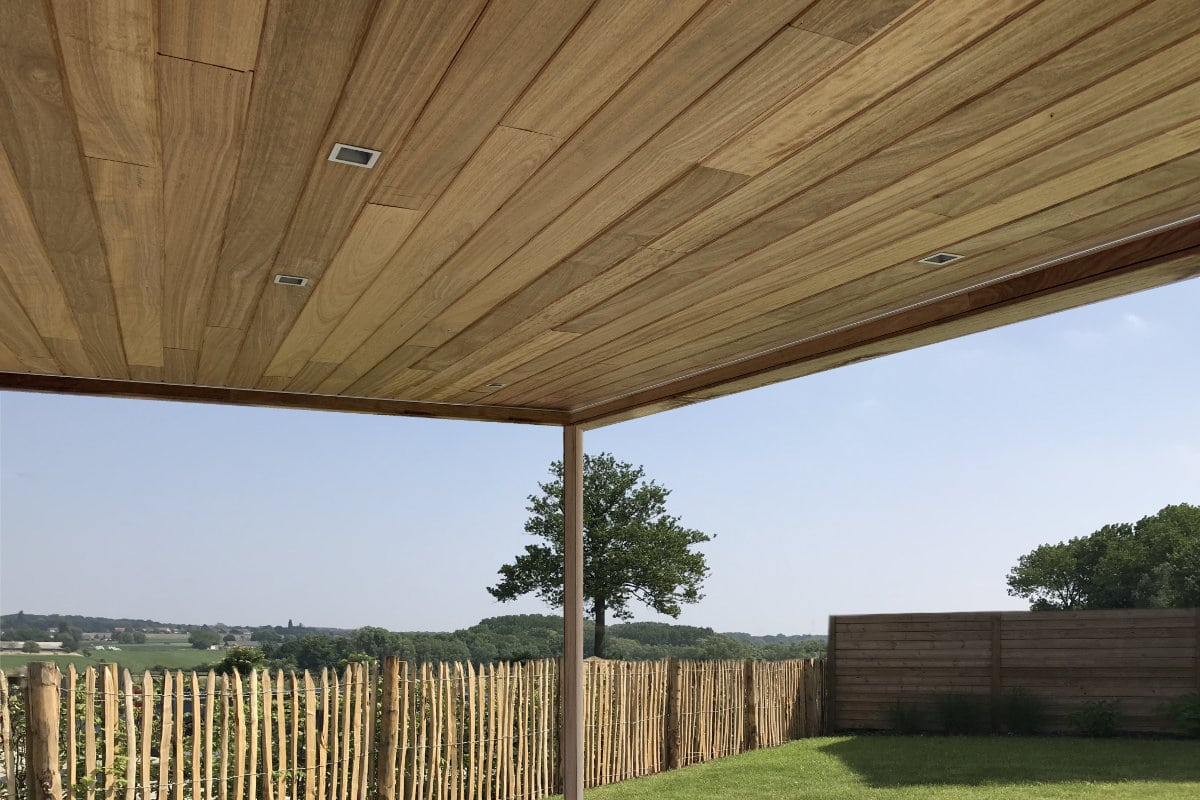 terrasoverkapping hout